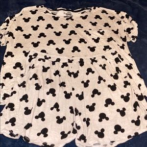 Mickey Mouse pajama short set XL